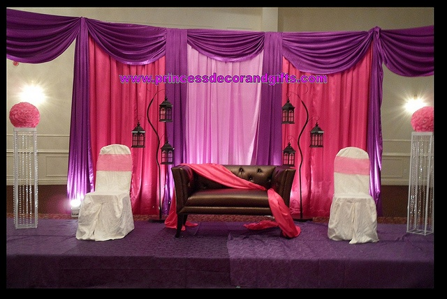 Mehndi Backdrop Diy : Mendhi decor pink purple backdrop princess please
