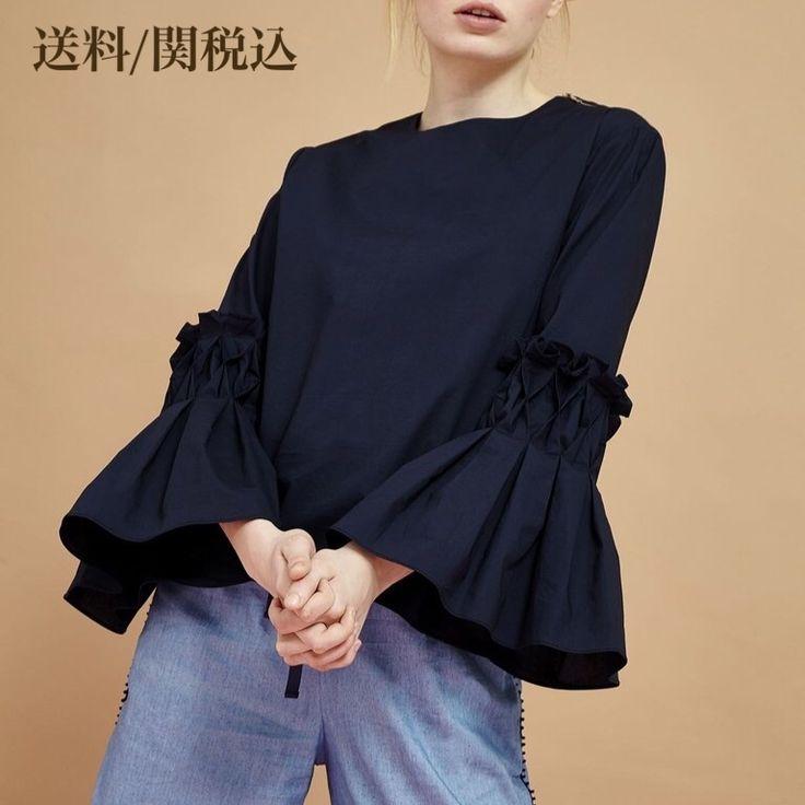 SISTER JANEのブラウス♪ ネイビーカラーのボリューム袖が 特徴的のアイテム^ ^ シンプルなデザイン色々なパンツやスカートに合わせやすいですよ☆ ★ SISTER JANE ★ ヴィンテージ感にモダンなテイストを組み込んだ独自のスタイルは、現在多くのファッションエディターやブロガー、アーティスト達から注目されています。 エキセントリックな英国とスペインのテイストが、質の良い布地とヒュージョンしたコレクションは世界各地のセレブリティ、トレンドセッター、有名ショップに注目されています。