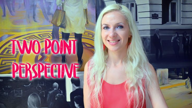 Two Point Perspective - Art theory by Oana Unciuleanu