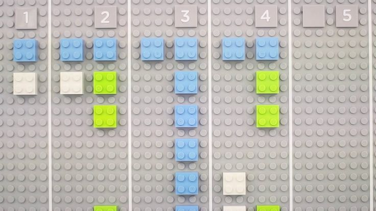 Lego calendar by Vitamins. The Lego calendar is a wall mounted time planner that we invented for our studio. It's made entirely of Lego, but...