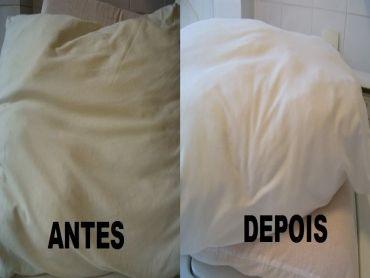 Receita Aprenda a lavar travesseiros