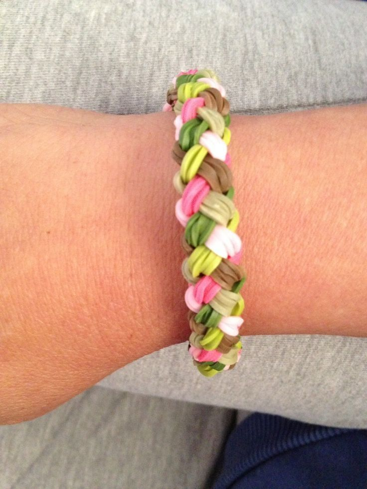 17 Best Images About Pulseras Double Braid Amp Dainty Twist