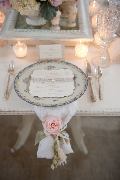 Lace Menu Card Designing The Most Inviting Day