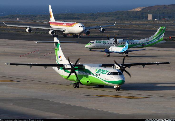 ATR ATR-72-500 (ATR-72-212A) - Binter Canarias   Aviation Photo #1713032   Airliners.net