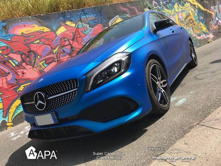 Super Candy Blue (CW/KK86.0X) #selfadhesive #apastickers #apafilms #apafolie #apavinyl #apa #supercandy #apawrapping #apasupercandy #supercandyblue