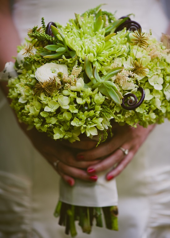 green bouquet, Flora events