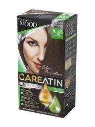 CAREATIN 3.00 Brown En skonsam AMMONIAKFRI toning med fantastisk FÄRGINTENSITET och glans.   Ger en naturligt brun ton, rekommenderas på blond till bruna hår. Täcker de första grå håren men rekommenderas inte till helt grått hår.