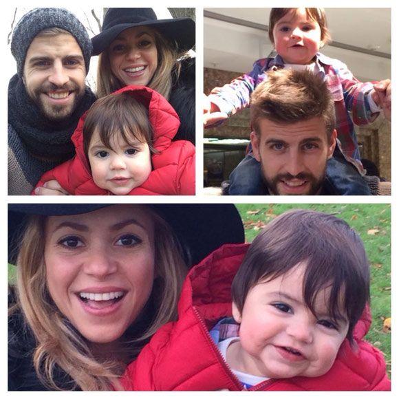 Shakira, Piqué y el pequeño Milan, días de turismo, risas y fotos familiares en Londres