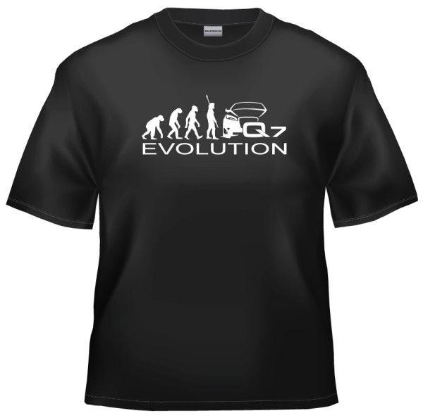 Evolution Audi Q7 t-shirt