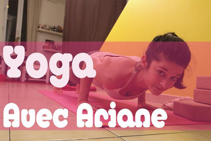Cours de Yoga gratuits en ligne pour débutants avec Ariane. Enfin des vidéos en français pour se mettre au Yoga en direct de chez soi!