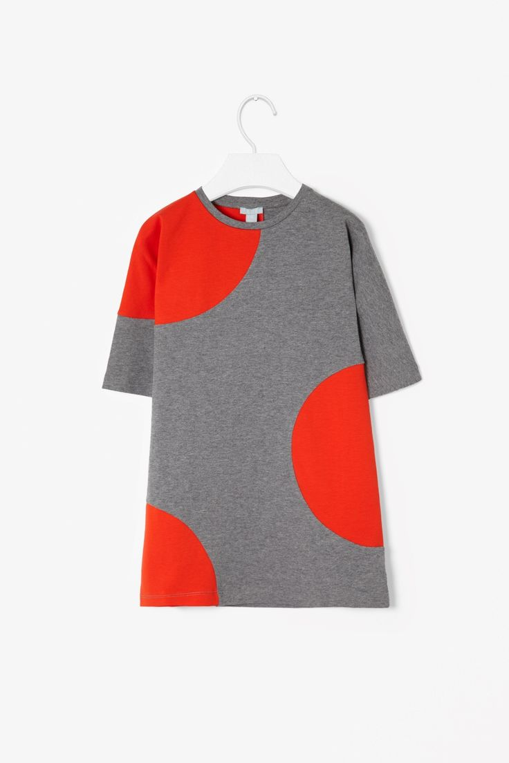 COS Block colour jersey dress