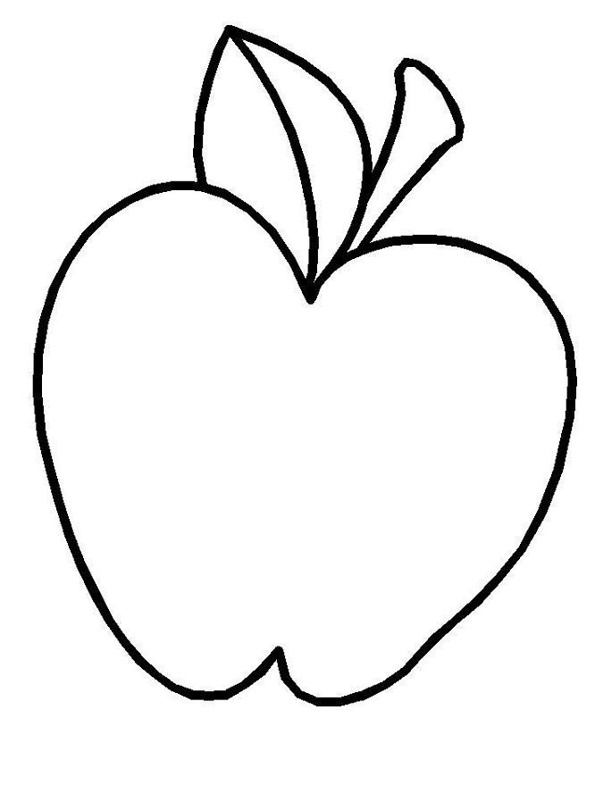 The Attract Apples Coloring Pages