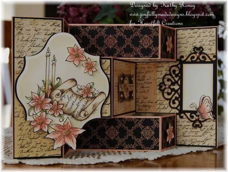 122 best Tri fold card images on Pinterest Tri fold cards - tri fold card