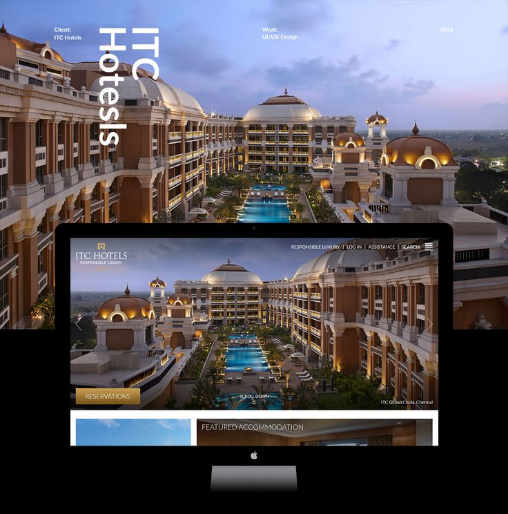 "Check out my @Behance project: ""ITC Hotel New Website"" https://www.behance.net/gallery/49692813/ITC-Hotel-New-Website"