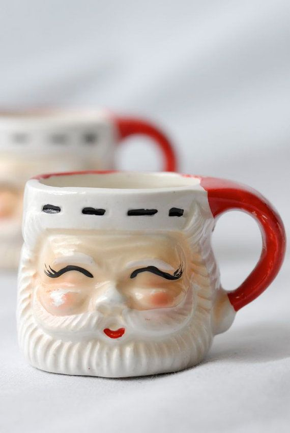 Vintage Santa Mug~All in our family had one~ I still have several of the originals....bb
