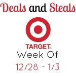Target Deals And Steals Week Of 12/28 – 1/3