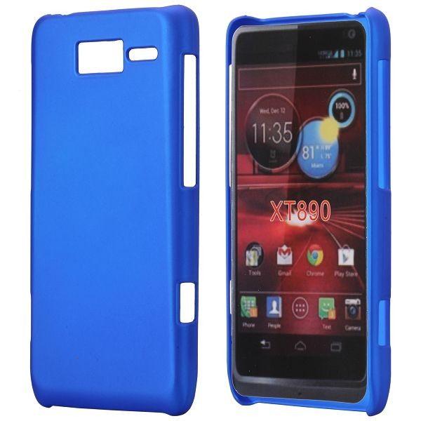 Hard Shell (Sininen) Motorola RAZR i Suojakuori