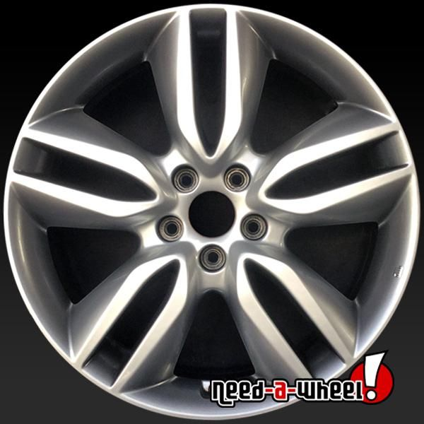 2013 2016 Hyundai Santa Fe Oem Wheels For Sale 19 Silver Stock