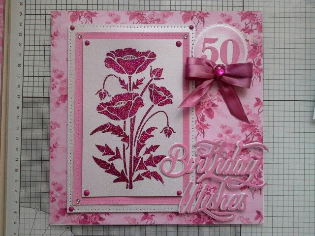 Phill Martin products with Sweet Poppy stencils