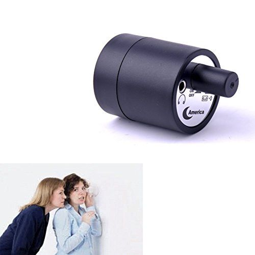 Mengshen HighlySensitive Mini Spy Microphone Audio Ear Listening Device Sound Amplifier Hearing Wall Gadget Wiretap Device On the Wall Door With Earphone MSHC29 -- Check out the image by visiting the link.