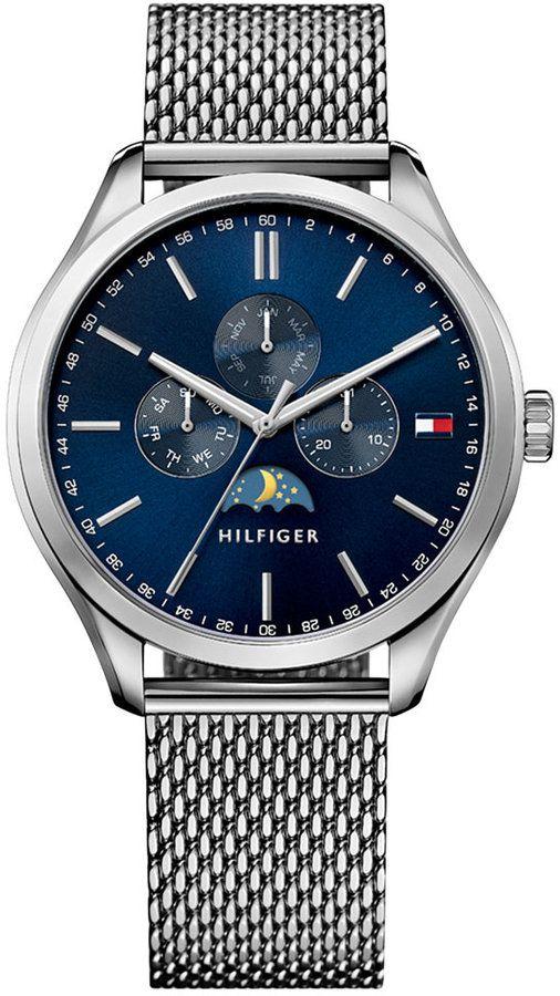 Tommy Hilfiger Men's Sport Lux Stainless Steel Mesh Bracelet Watch 42mm 1791302