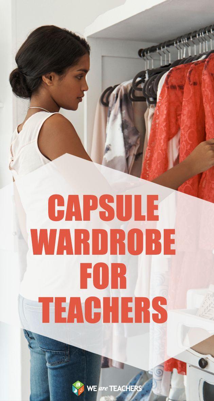 Capsule Wardrobe for Teachers: Fashion ideas