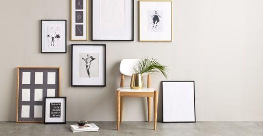 Denver Collection - matt brass frames