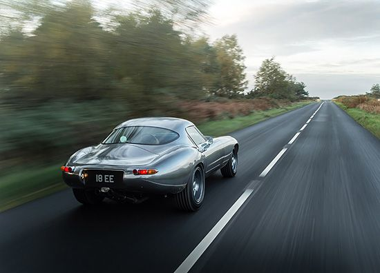 """British company Eagle spent the last twenty five years working exclusively on """"the most beautiful car in the world"""" as Enzo Ferrari once described the Jaguar E-Type.  The recently released Eagle Low Drag GT has an all-aluminum lightweight body and a 346 hp engine, reaching 60mph in five seconds and a top speed of 170 mph.   """"A testament to the beauty of the original Jaguar E-Type Low Drag Coupe, we have added practical improvements including a more spacious cockpit, recirculating…"""