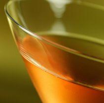 Angel Face: Calvados, Gin, Briottet creme de peche