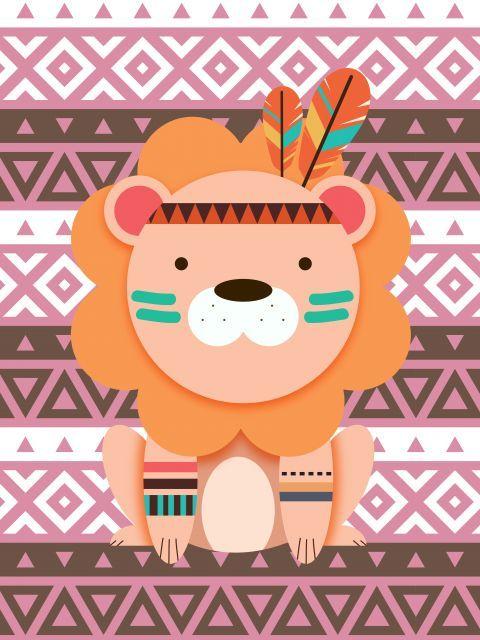 Poster - Leãozinho Tribal