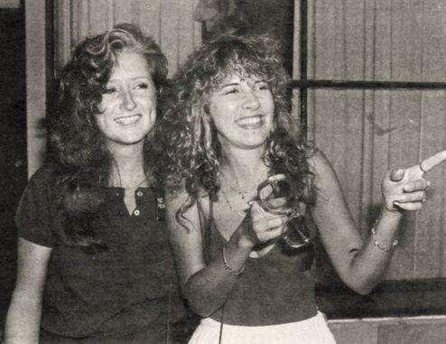 "Bonnie Raitt, Stevie Nicks lovelove these two.  ""Love in the ""Nick"" of time!"""