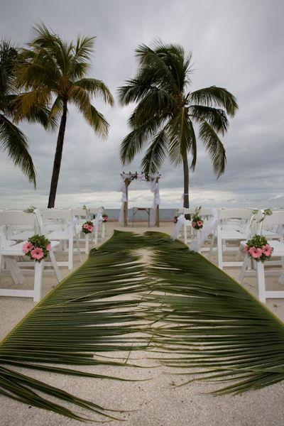 Beach Wedding Ceremony Decor Ideas