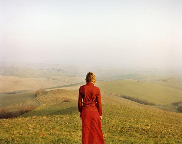Elina Brotherus, Le Voyageur, 2003