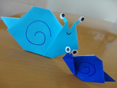 ハート 折り紙 折り紙 かたつむり 簡単 : pinterest.com