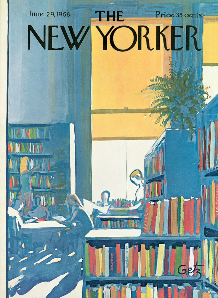Library, 1968 | The New Yorker | The New Yorker | New ...