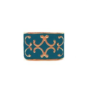 Baroque Pattern Boho Luxe Ring (TEAL); $28.75 : http://www.femmearmor.com/product/isis-pattern-baroque-boho-luxe-ring-teal