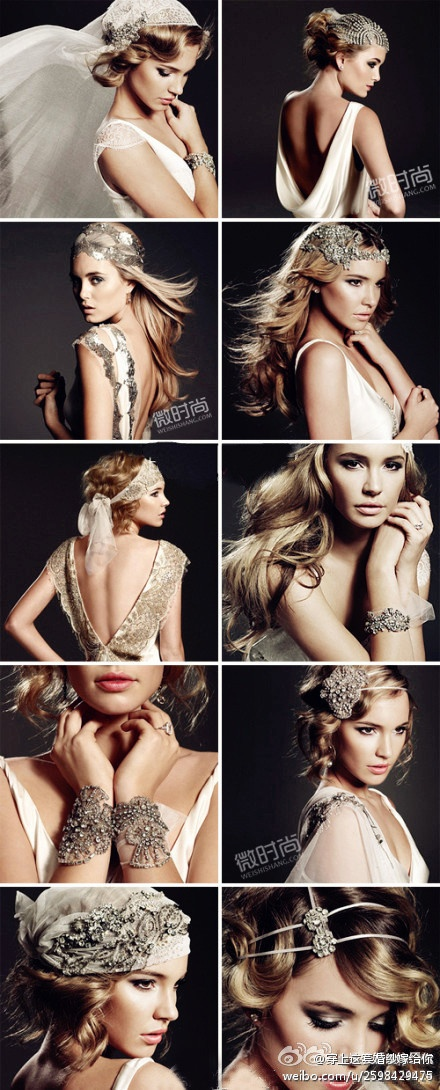 wedding accessories Pining for the bracelets Follow Bride's Book for more great inspiration.