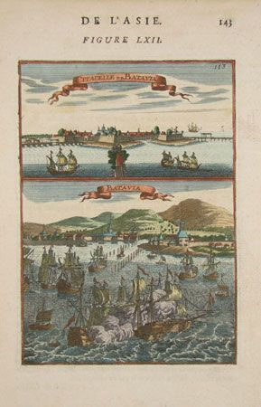 """This day in 1697 - Willem de Vlamingh returns to Batavia after exploring """"South Land""""."""