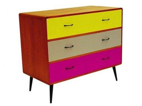 Mid Century Retro Dresser