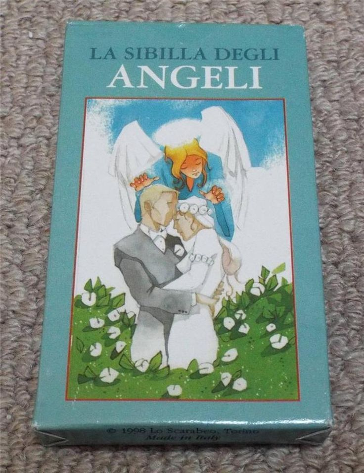 LA SIBILLA DEGLI ANGELI - 1998 ANGELS ORACLE PLAYING CARDS
