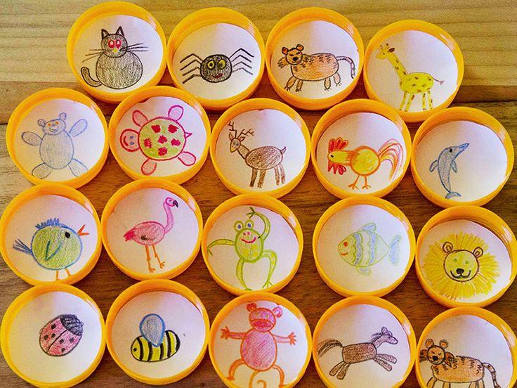 Memóriajáték házilag: 8 szuper ötlet ovisoknak, kisiskolásoknak - Készítsétek el együtt a gyerekkel!