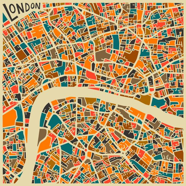 London, Cities Jazzberry Blue