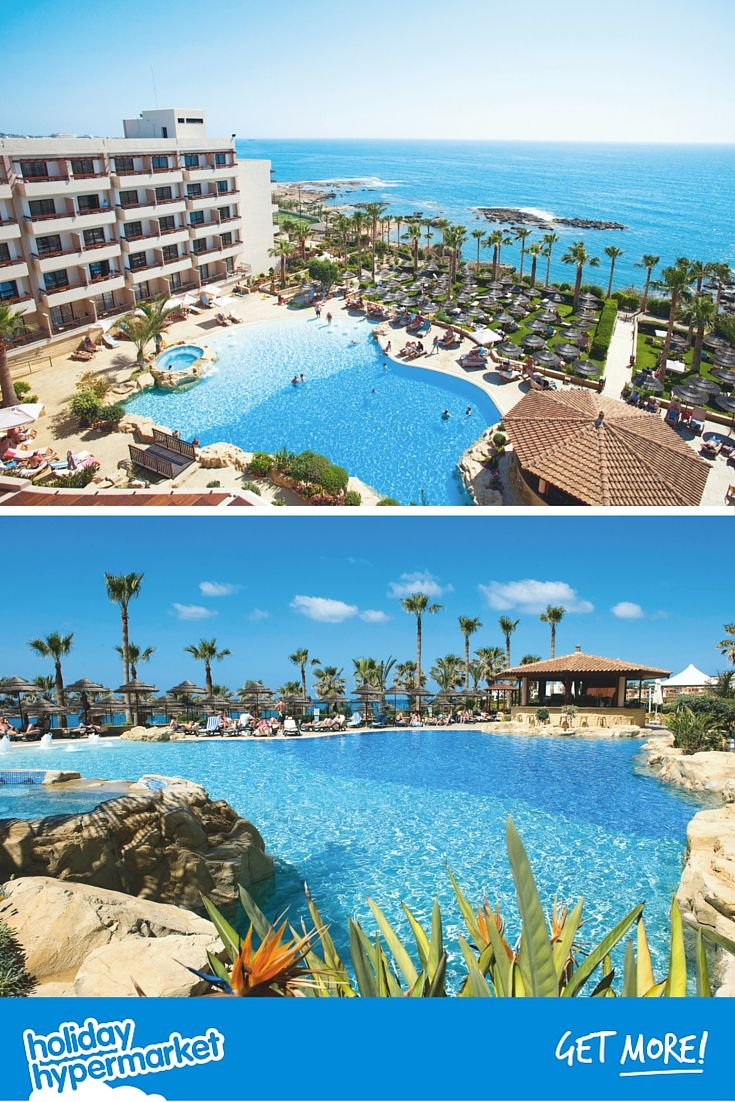 The 4* Atlantica Golden Beach Hotel in Paphos, Cyprus is adults-only so it's a great place to relax and unwind. The sea views throughout the hotel will help too. Click on the image for more details.