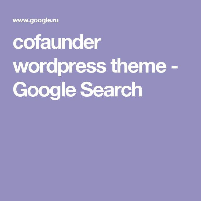 cofaunder wordpress theme - Google Search