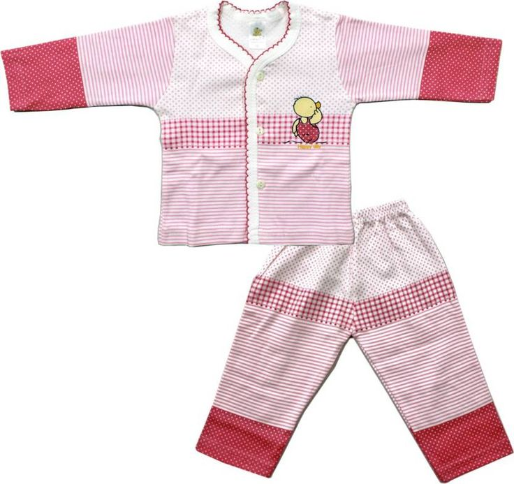 #Kid's Care #Boys & #Girls #Casual #T-shirt #Pant  (#Pink)