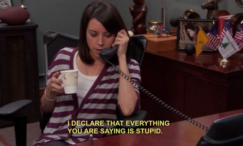 "AMEN SISTAH! The 20 Most Relatable April Ludgate Quotes From ""Parks And Recreation"""