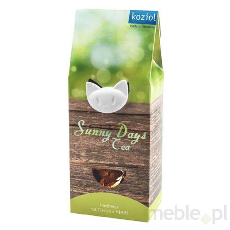 Zestaw prezentowy herbata + zaparzaczka SUNNY DAYS TEA KZ-0860002