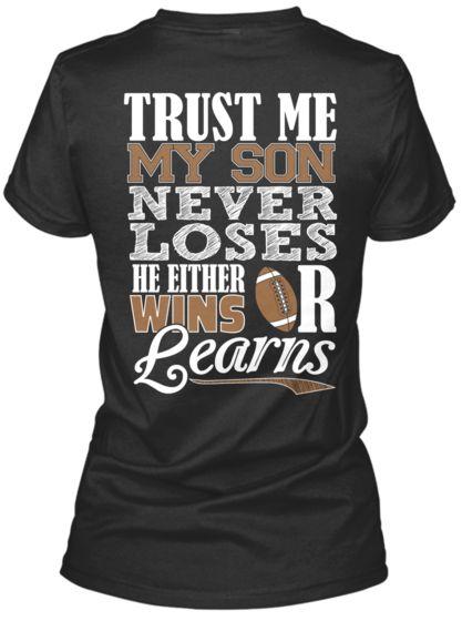 My Son Learns - football shirt