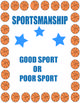 Sportsmanship is a crucial social skill for students to learn. Included are 30 sportsmanship choice cards to help students learn and understand the difference between positive choices (being a good sport) and negative choices (being a poor sport). There are ideas to help you use the choice cards in the classroom. Also, there are 6 blank cards to write in your own sportsmanship situations that may be beneficial for your students. You can print the cards in color and laminate them if you…