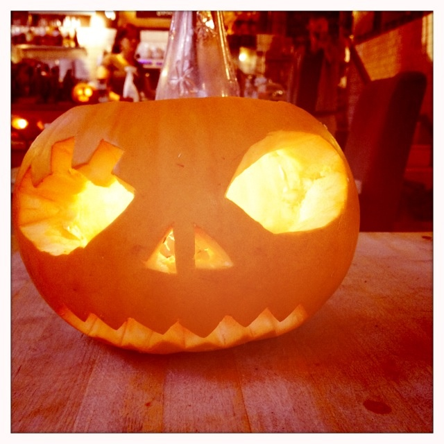 Clockwork orange pumpkin